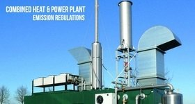 Combined Heat and Power Plant CHP Engine Banner