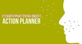 Construction Dust Action Planner Banner