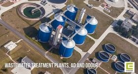 Wastewater Treatment Plant AD and Odour Banner