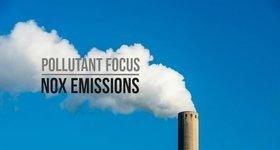 NOx emissions a pollutant focus banner