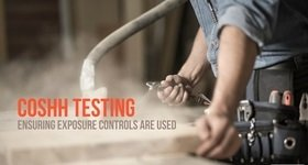 COSHH Testing Exposure Controls Banner