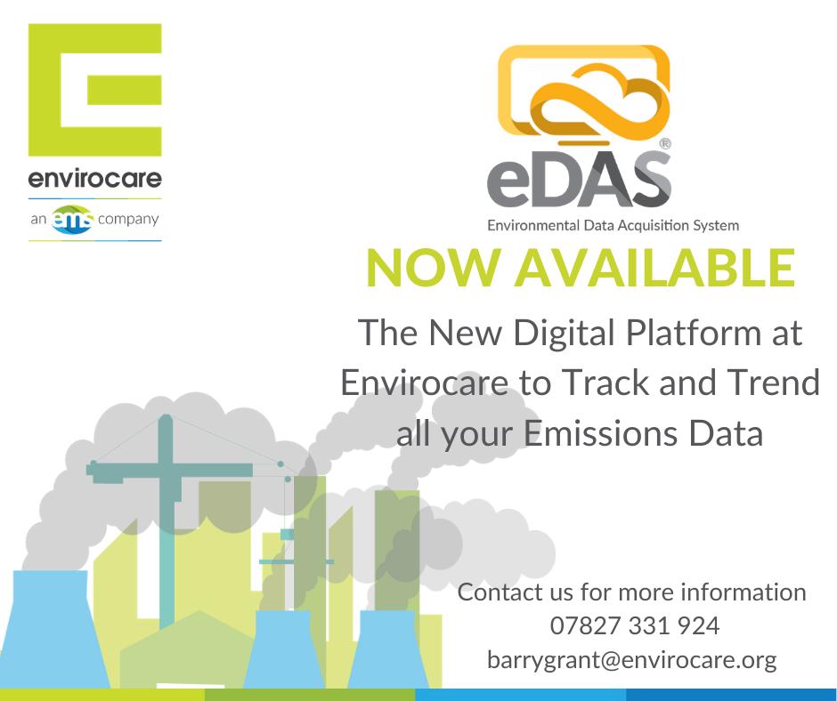 eDAS environmental data acquisition system graphic